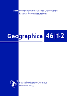 Geographica 46/1-2 (2015)